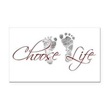 Choos Life.png Rectangle Car Magnet
