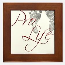 prolife.png Framed Tile