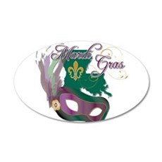 Mardi Gras Louisiana Wall Decal