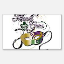 Mardi Gras Decal