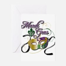 Mardi Gras Greeting Cards (Pk of 20)