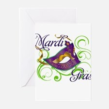 MardiGras.png Greeting Cards (Pk of 20)