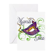 MardiGras.png Greeting Card