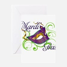 MardiGras.png Greeting Card