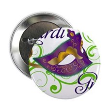 """MardiGras.png 2.25"""" Button (100 pack)"""