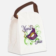 MardiGras.png Canvas Lunch Bag
