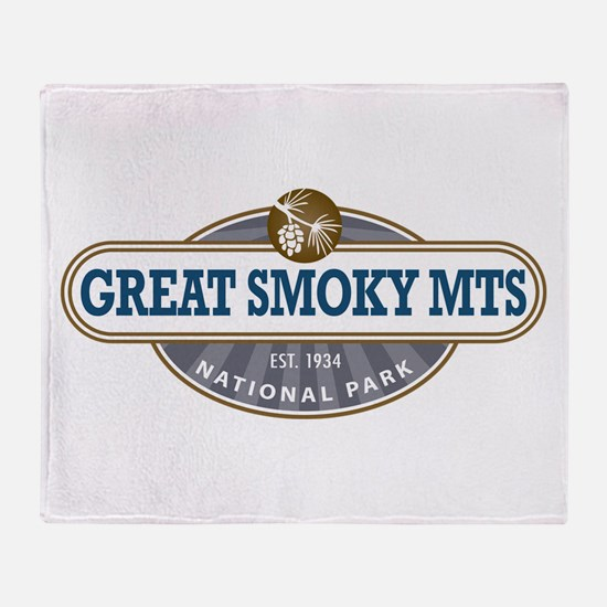 The Great Smoky Mountains National Park Throw Blan