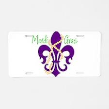MG_fleur_beads.png Aluminum License Plate