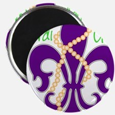 """MG_fleur_beads.png 2.25"""" Magnet (100 pack)"""