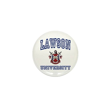 LAWSON University Mini Button (100 pack)