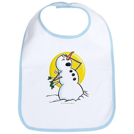 Snowmen Bib