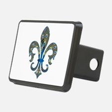 Peacock Fleur 1 Hitch Cover