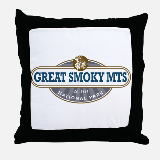 The Great Smoky Mountains National Park Throw Pill