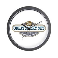 The Great Smoky Mountains National Park Wall Clock