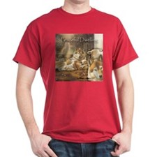 """Peaceful Dwelling"" Fine Art T-Shirt"