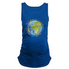 Change the world Maternity Tank Top