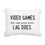Gamer Rectangle Canvas Pillows