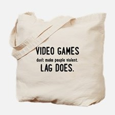 Video Game Lag Tote Bag