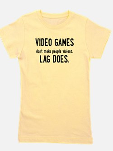 Video Game Lag Girl's Tee