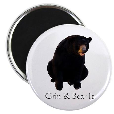 grin & bear it Magnet