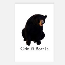grin & bear it Postcards (Package of 8)