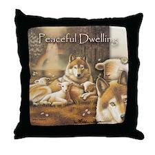 """Peaceful Dwelling"" Fine Art Wild Life Pillow"