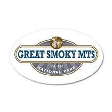 The Great Smoky Mountains National Park Wall Decal