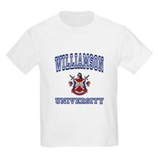 WILLIAMSON University Kids T-Shirt