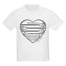 Lacrosse_HeartSticks.png T-Shirt