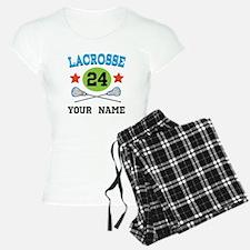 Lacrosse Player Personalized Pajamas