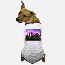 Unique Atlanta skyline Dog T-Shirt