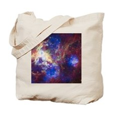 Colorful Space Tote Bag