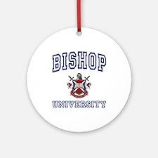 BISHOP University Ornament (Round)
