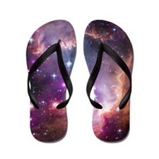 Beauty of Space Flip Flops