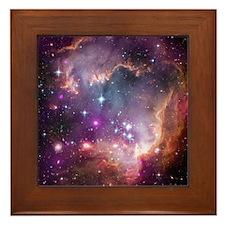 Beauty of Space Framed Tile