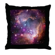 Beauty of Space Throw Pillow