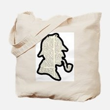 Classic Sherlock Holmes Tote Bag