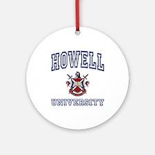 HOWELL University Ornament (Round)