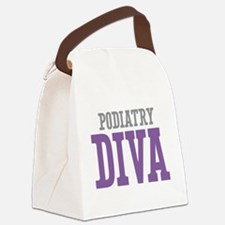 Podiatry DIVA Canvas Lunch Bag