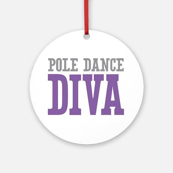 Pole Dance DIVA Ornament (Round)