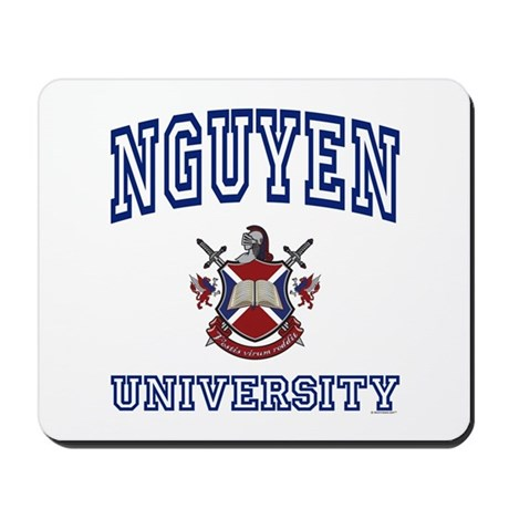 NGUYEN University Mousepad