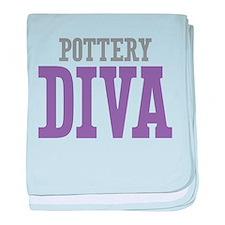 Pottery DIVA baby blanket