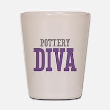 Pottery DIVA Shot Glass