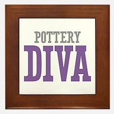 Pottery DIVA Framed Tile
