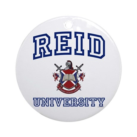 REID University Ornament (Round)