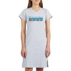 Shark and Remora Women's Nightshirt
