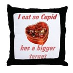 Cupid's Target Throw Pillow