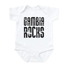 Gambia Rocks Onesie