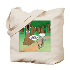 Forest Time Share Tote Bag