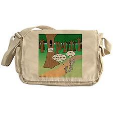 Forest Time Share Messenger Bag